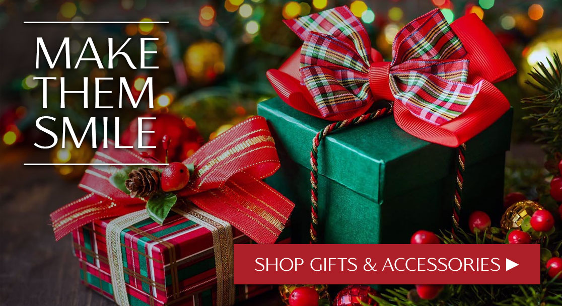 MAKE THEM SMILE!--Shop Gifts & Accessories Now ►